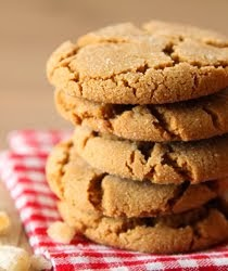 ♥ Chewy Ginger Cookies