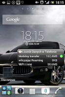 Utworzony nowy folder na pulpicie Androida