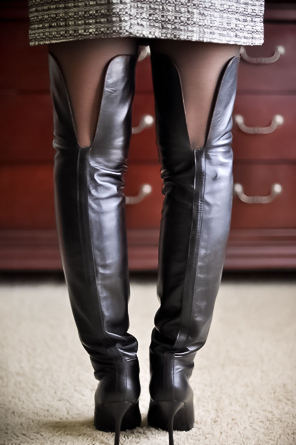how to make leather boots