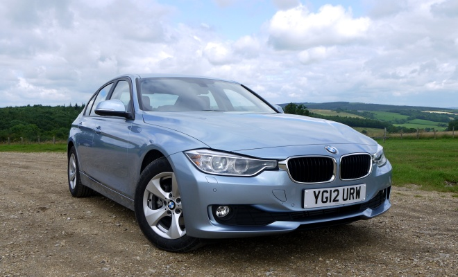 BMW 320d Efficient Dynamics - front view