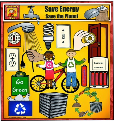 Charlotte 39 s clips and kindergarten kids quick look at for Save energy painting