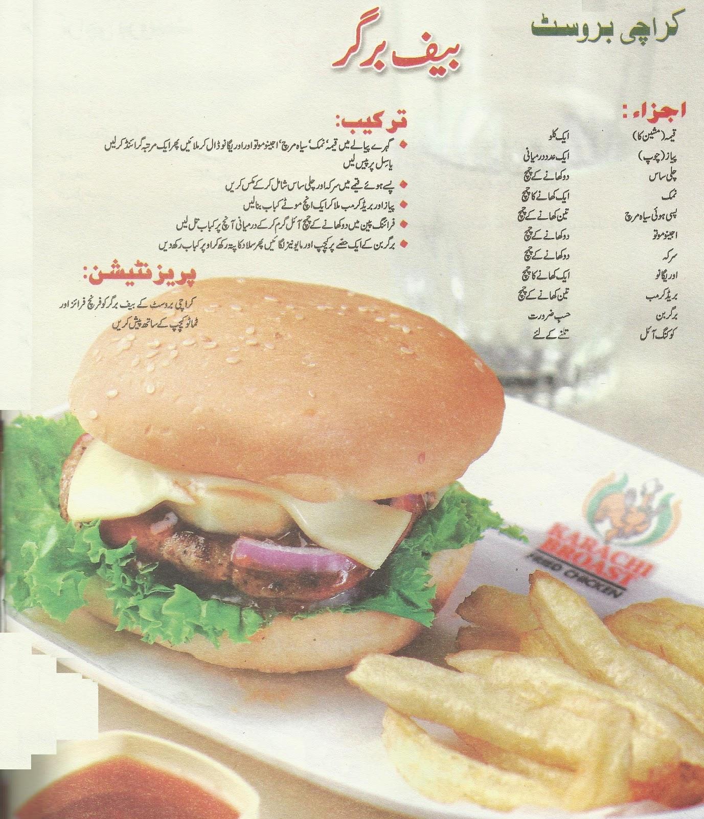 Urdu Cooking New Recipe
