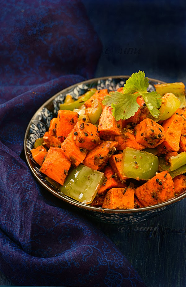 #SpicedSweetPotatoes #SweetPotatoSubji  #SweetPotatao Side