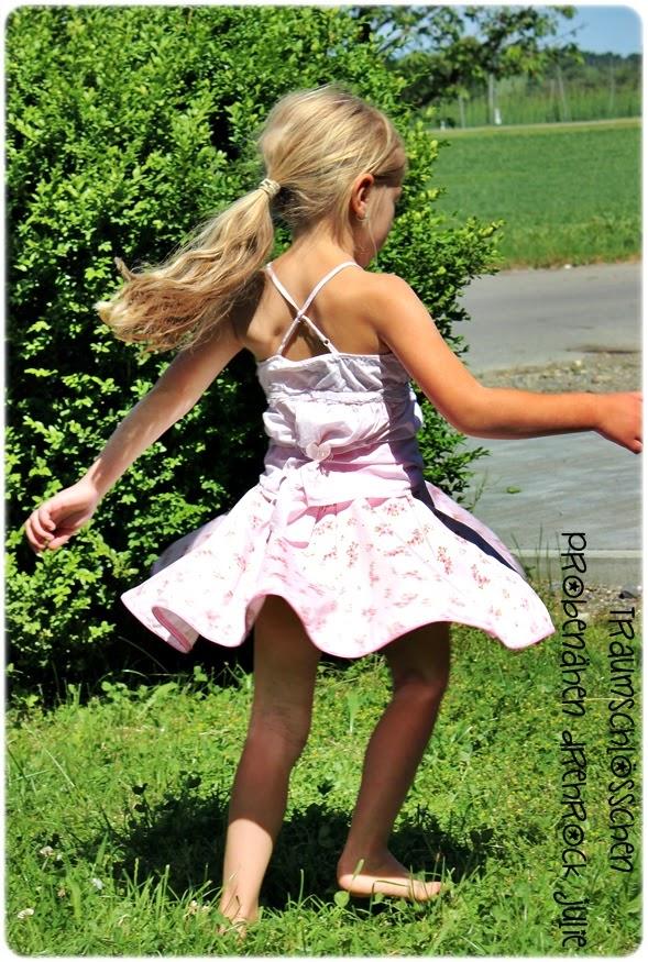 Traumschlösschen: Drehrock Julie für die kleine Prinzessin