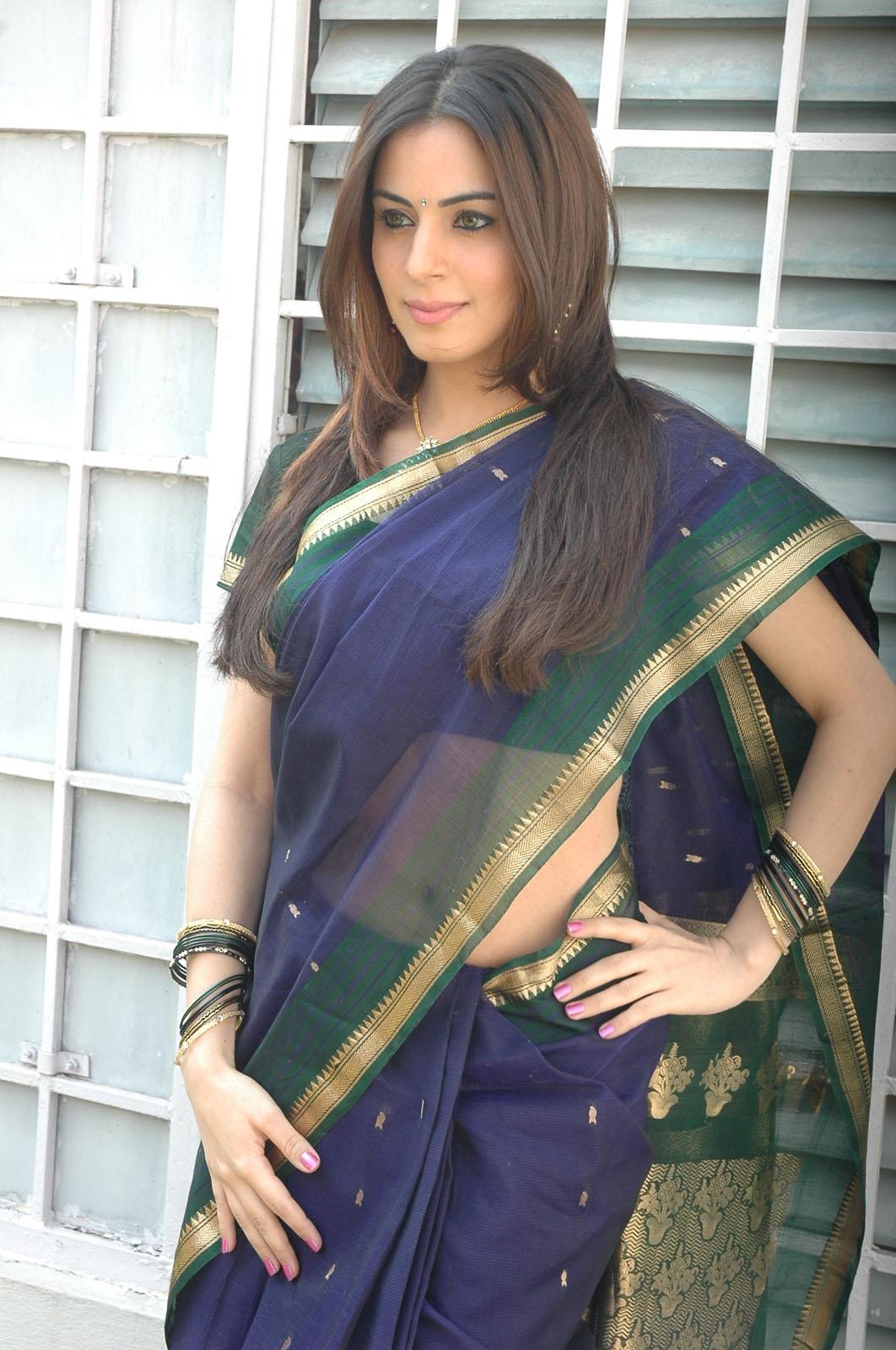 Shraddha arya in saree