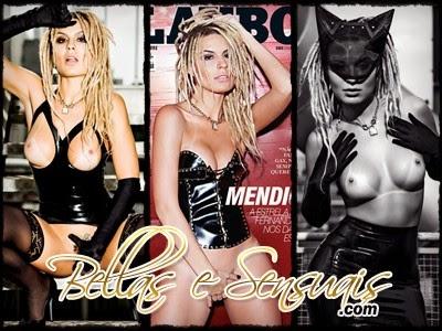 Fernanda Lacerda, Mendigata na Playboy Outubro 2014