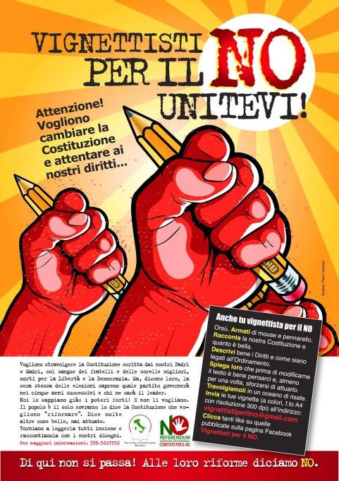 """Vignettisti per il """"NO""""!!!"""