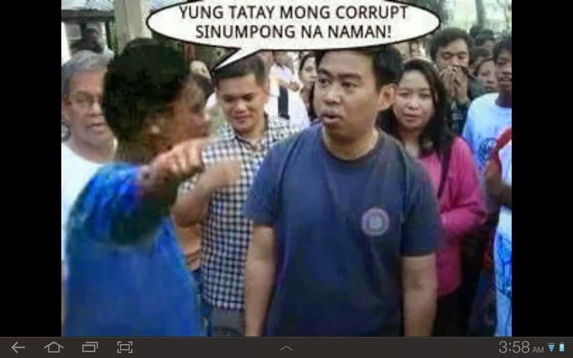 Funny Memes Tagalog 2013 : Jejomar binay funny meme ~ super cute u