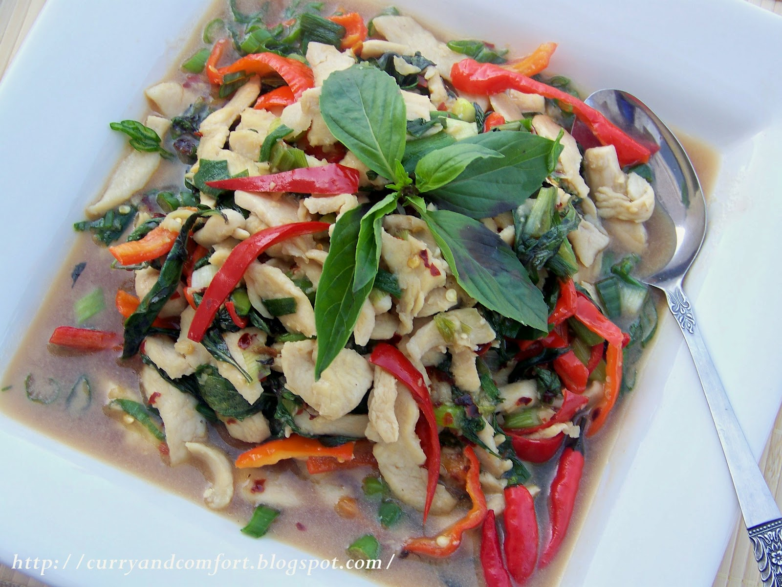 Kitchen Simmer: Thai Basil Chicken Stir Fry