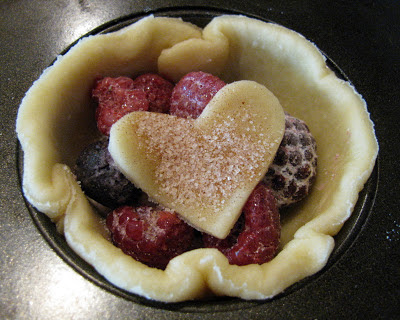 Individual Mixed-Berry Pies Recipes — Dishmaps