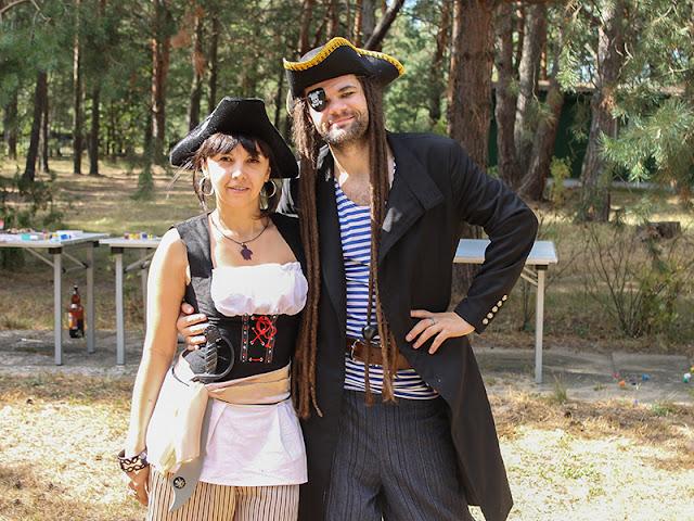 костюм пирата вечеринка