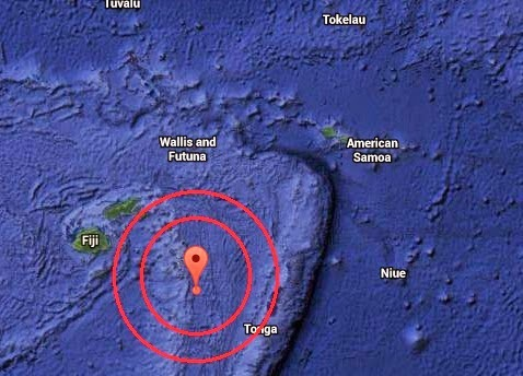 Magnitude 7.1 Earthquake of Ndoi Island, Fiji 2014-11-01