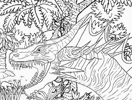 Sea Monster Coloring Pages Free