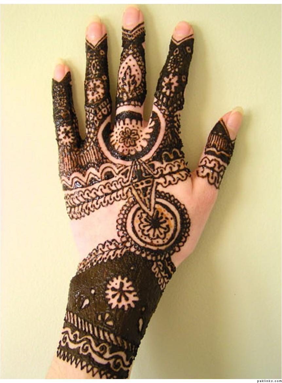 Beautifull and latest mehndi design dresses design for gilrs 2012 - Pakistani Mehndi Designs For Eid