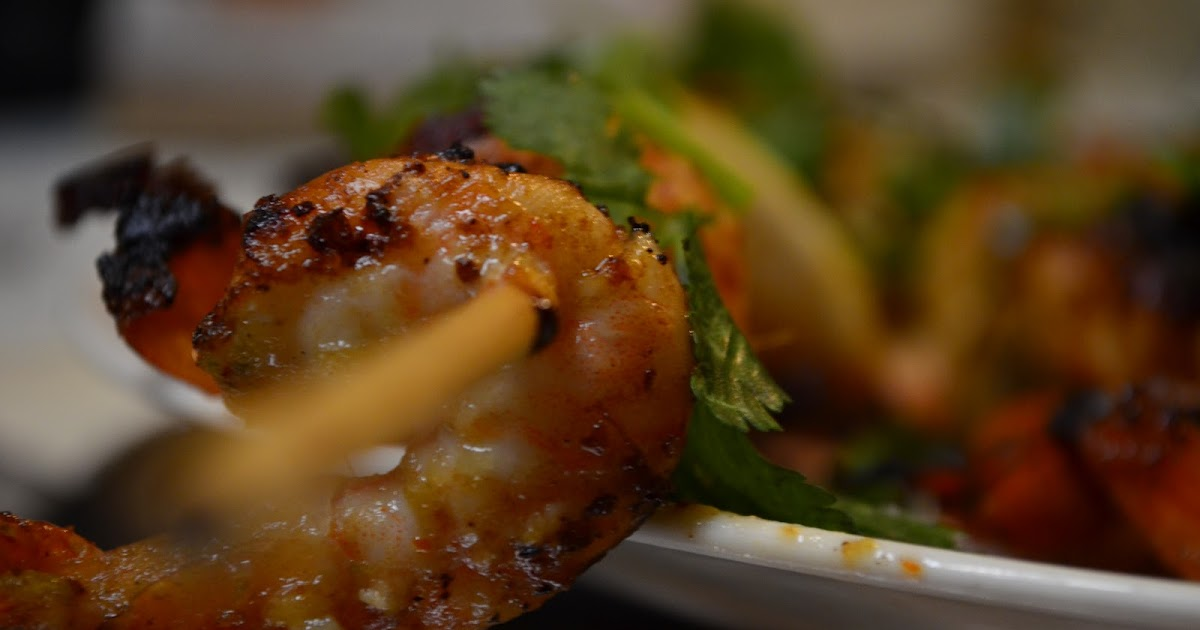 GINGER-LEMON GRILLED SHRIMP !!! - JOURNOSPEAK