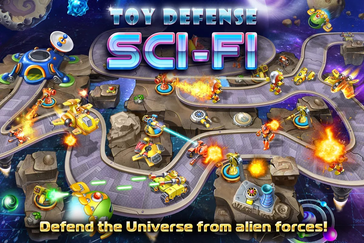 Toy Defense 4: Sci-Fi v1.1.1