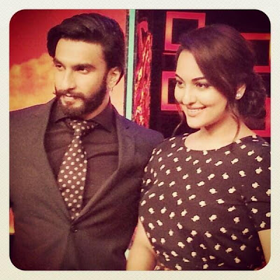 Ranveer  & Sonakshi at the MasterChef India Finale!