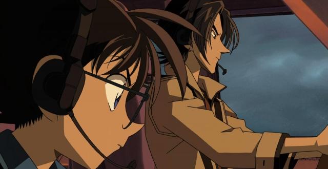 Hình ảnh phim Conan 08: Nhà Ảo Thuật Với Đôi Cánh Bạc