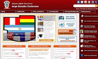 Resultados examen UNJBG 2014-II Examen Universidad Jorge Basadre Grohmann 30 de Marzo