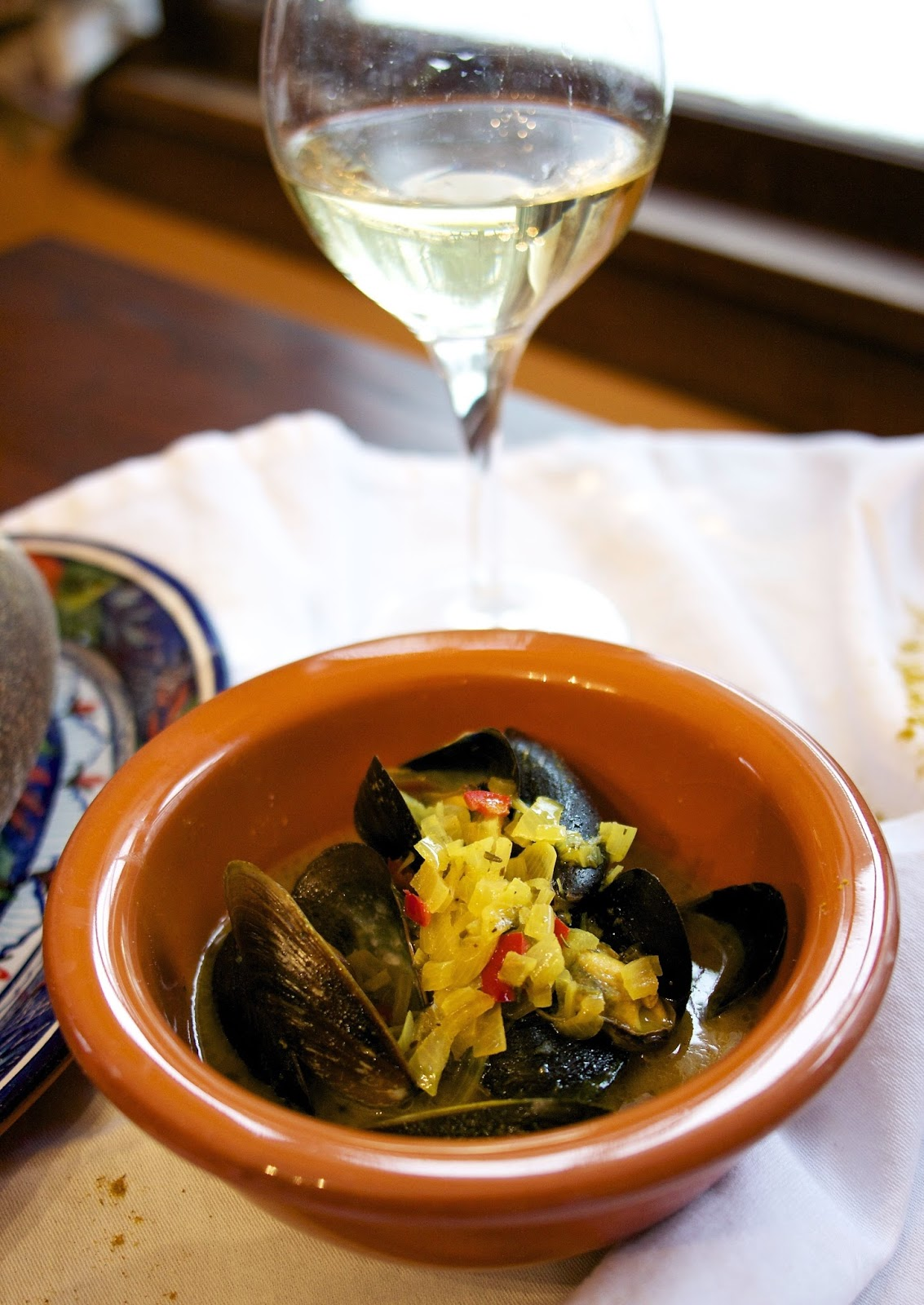 Curried Mussels- simplelivingeating.com
