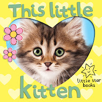 cover picture of This Little Kitten, a children's illustrated ebook about kittens
