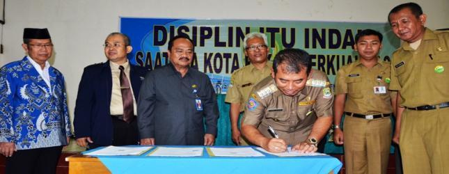 MoU PPDB Online 100 Persen di Kota Bekasi