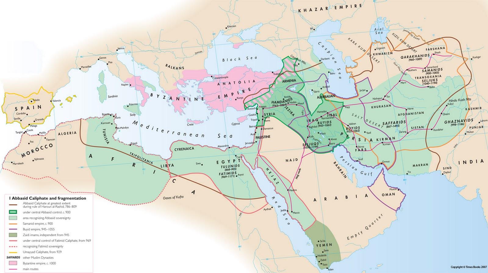 SEJARAH DAN TAMADUN ISLAM (NOTA KULIAH)