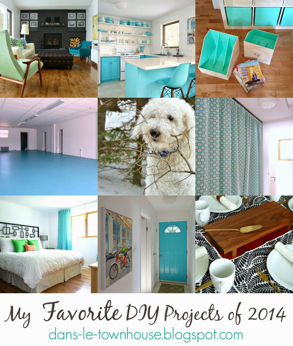 My Favorite DIY Projects of 2014 | Dans le Lakehouse