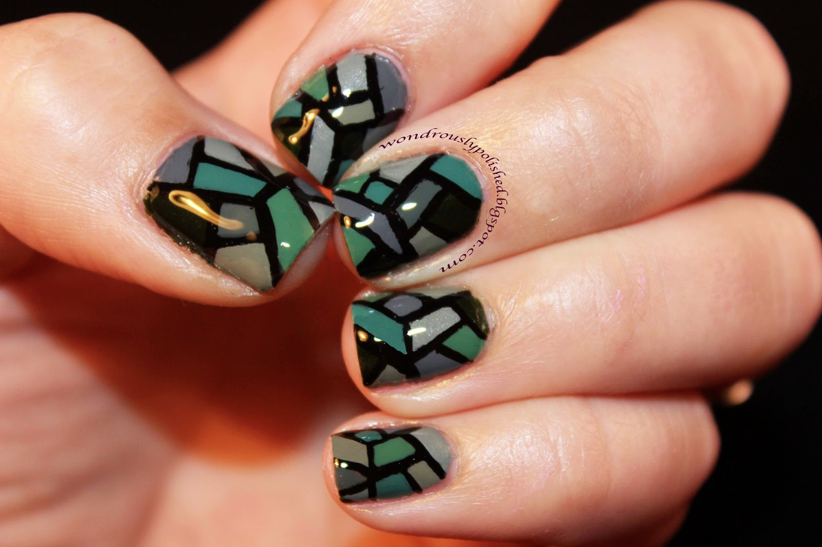 Wondrously Polished: Stained Glass Inspired!