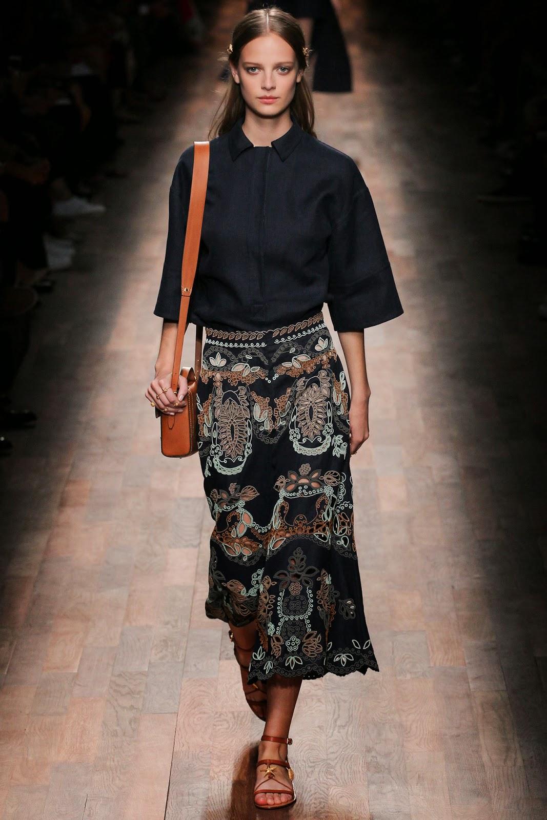 valentino 2015 summer 2016 trend women dress 3 Valentino 2015 samling, våren sommaren 2016 Valentino klänning modeller, Valentino kväll klänning nya säsongen kvinnors kjolar modeller