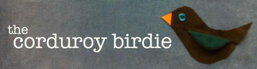 the corduroy birdie