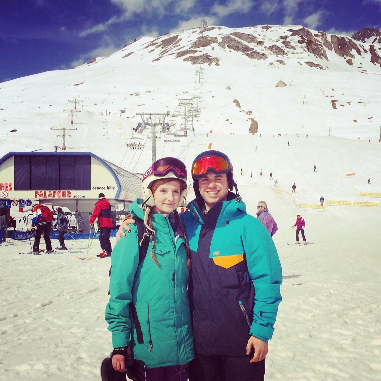 tignes skiing snowboarding