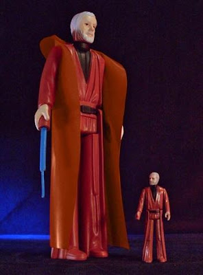 "Obi-Wan Kenobi 12"" Jumbo Vintage Kenner Star Wars Action Figure by Gentle Giant"