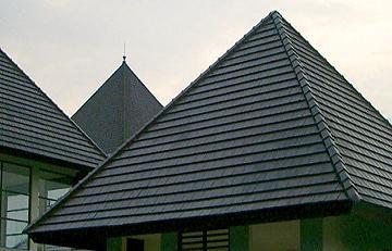 genteng flat atap rumah minimalis
