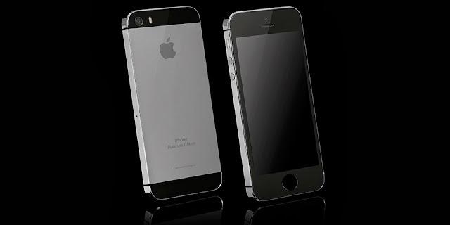 iPhone 5S Platinum Edition