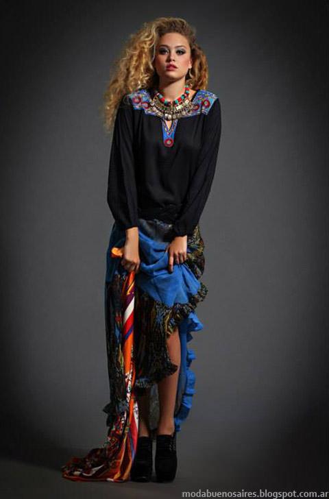 Sweaters y faldas Moda otoño invierno 2015 Sophya
