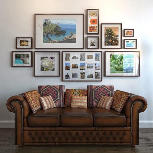 gallery wall ikea frames
