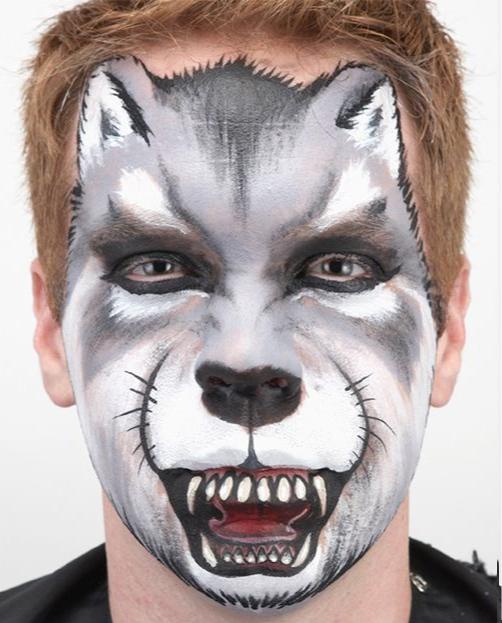 Tutorial Maquillaje de Lobo paso a paso