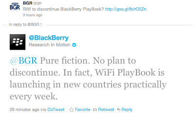Will BlackBerry PlayBook Still be Produced?