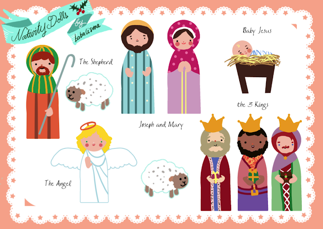 Displaying 16> Images For - Nativity Scene Printables...