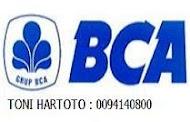 NO REK BCA