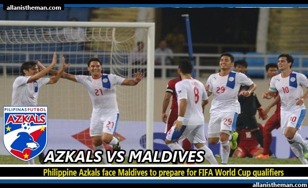 Philippine Azkals face Maldives to prepare for FIFA World Cup qualifiers
