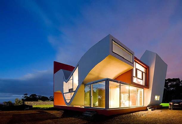desain rumah minimalis unik, rumah minimalis