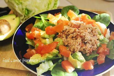 Zesty Tuna and Palm Salad