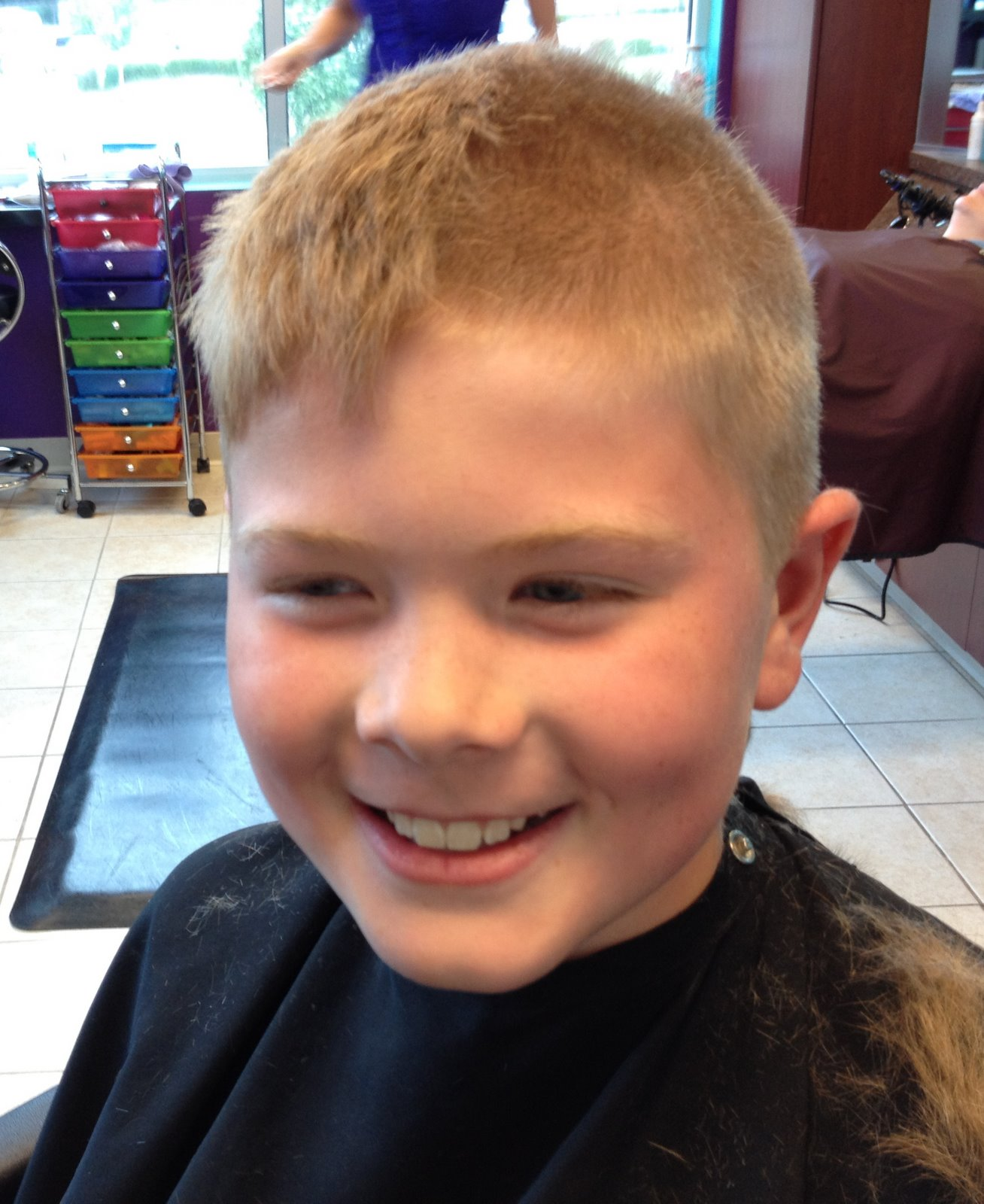 Boy Haircuts For Summer : A blonde and boys summer haircuts
