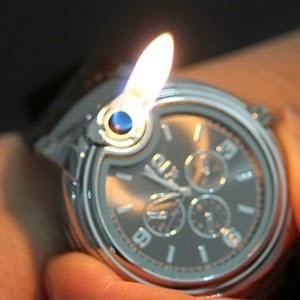Original reloj de pulsera con mechero