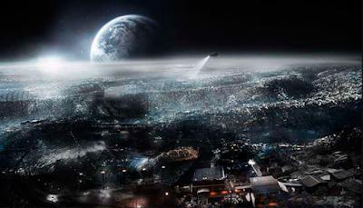 Arquitectura selenita arquitectura en la luna ciudades en la luna habitar espacio