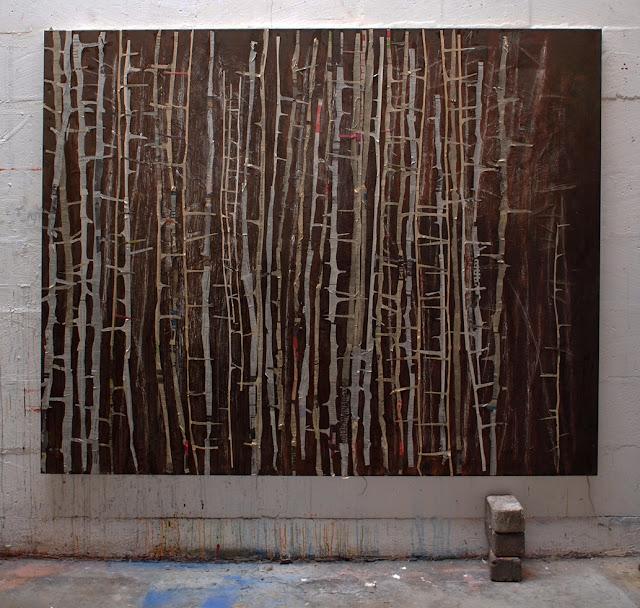 Compositie met schilderij
