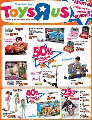 oferta de juguetes toysrus navidad 2013