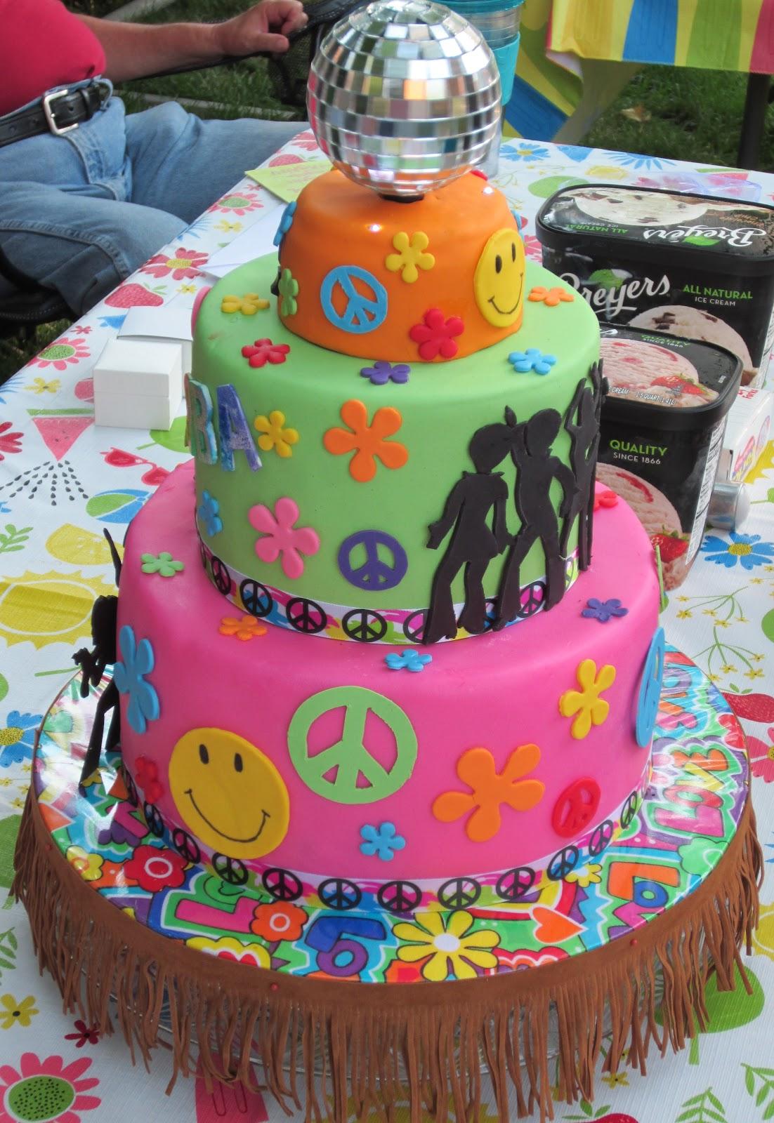 Js Cakes 70s Birthday Cake